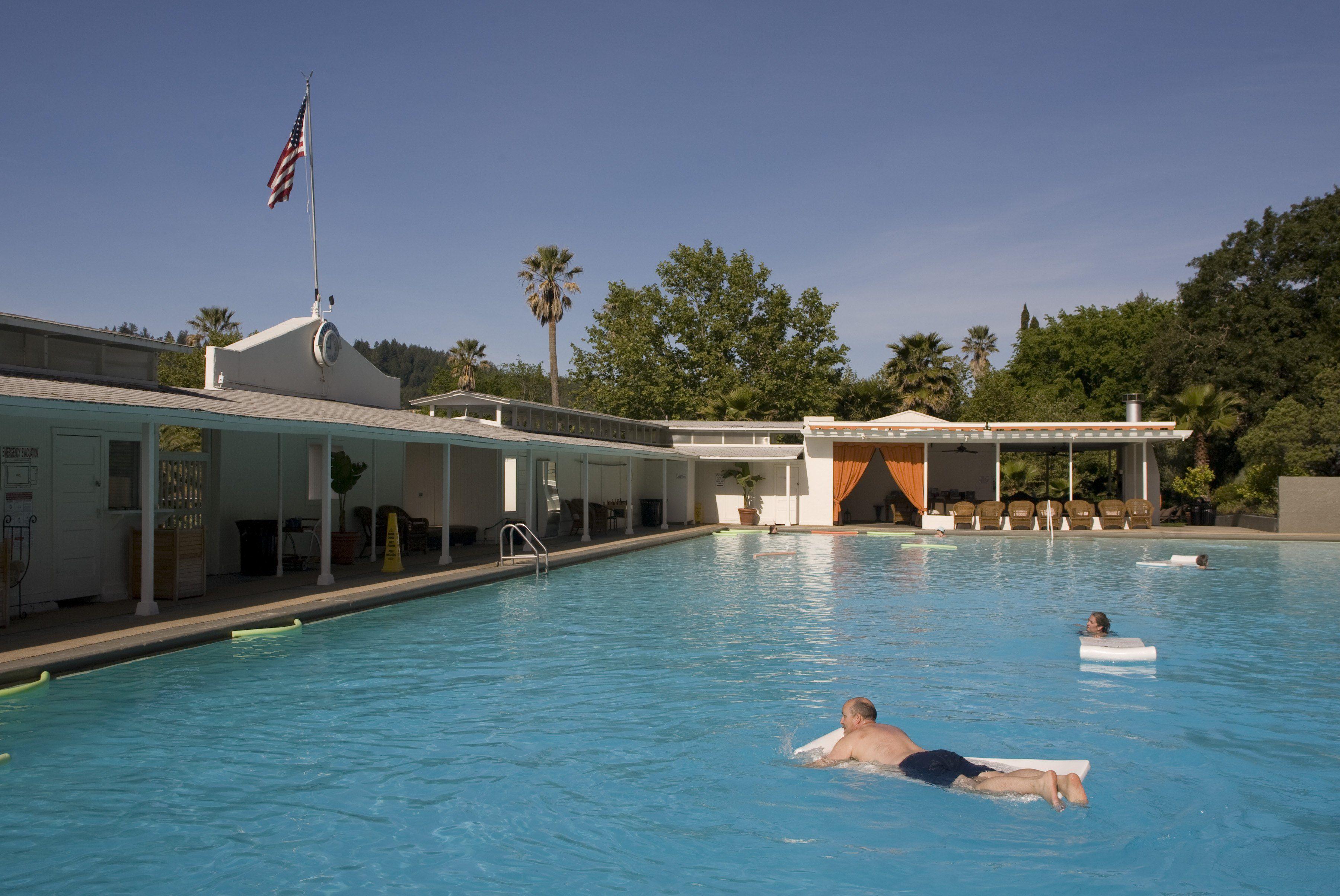 Indian Springs Resort, Calistoga, CA