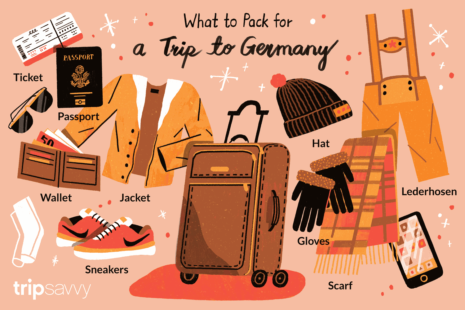 Packing List For Visitors To Germany