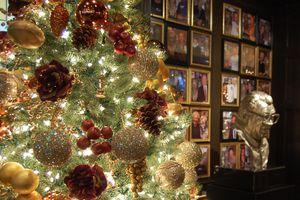 Harry Caray's Christmas tree