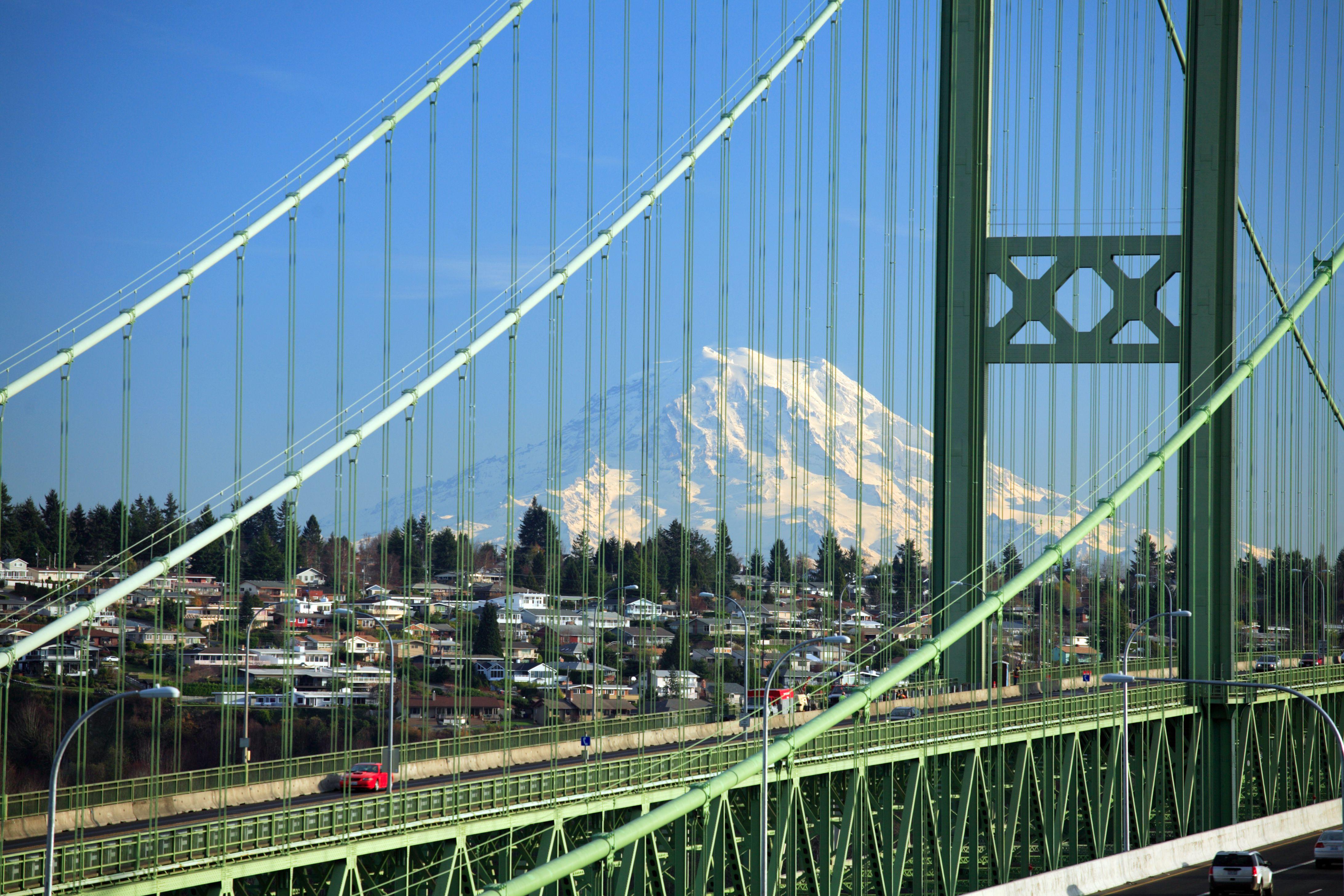 Tacoma Narrows Bridge, WA
