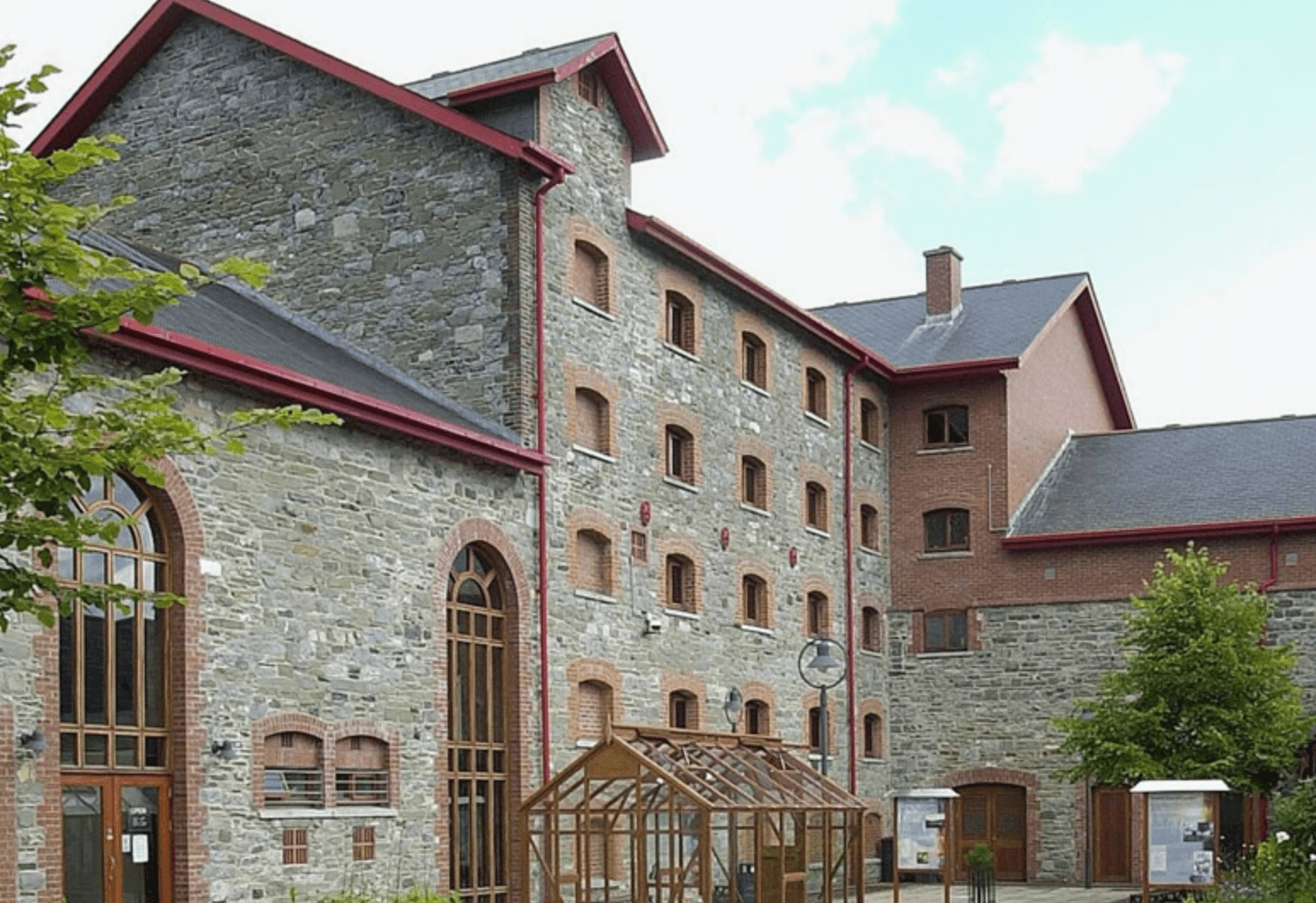 Exterior of the County Museum Dundalk