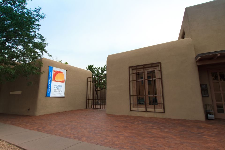 Georgia O'Keeffe Museum in Santa Fe, NM