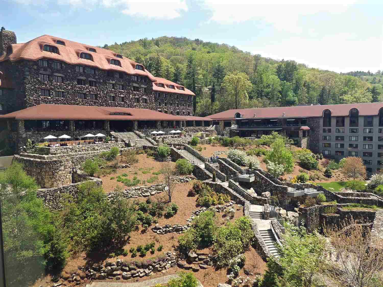 The Omni Grove Park Inn in Asheville NC