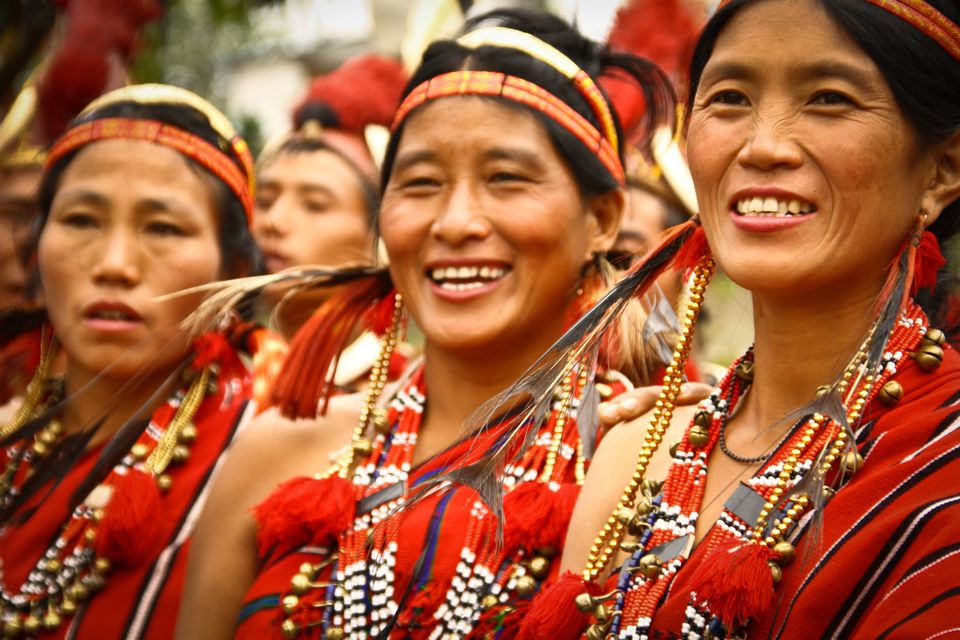 Tribal women from northeast India.