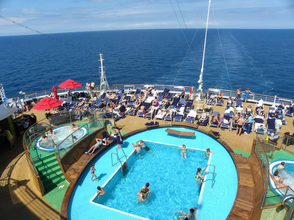 Carnival Magic Cruise Ship Outdoor Deck Areas