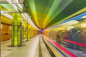 Munich U-Bahn train