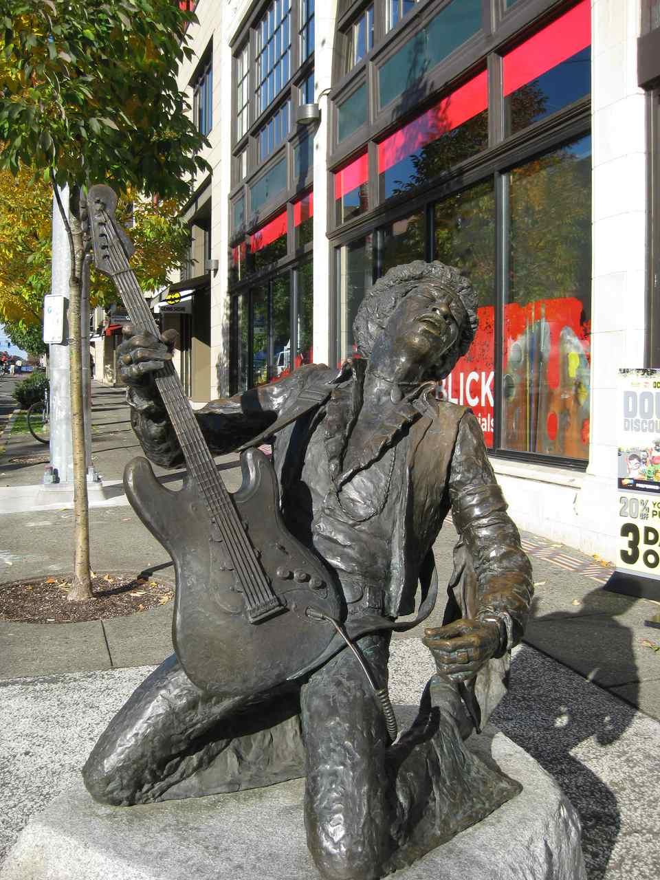 Jimi Hendrix in Seattle