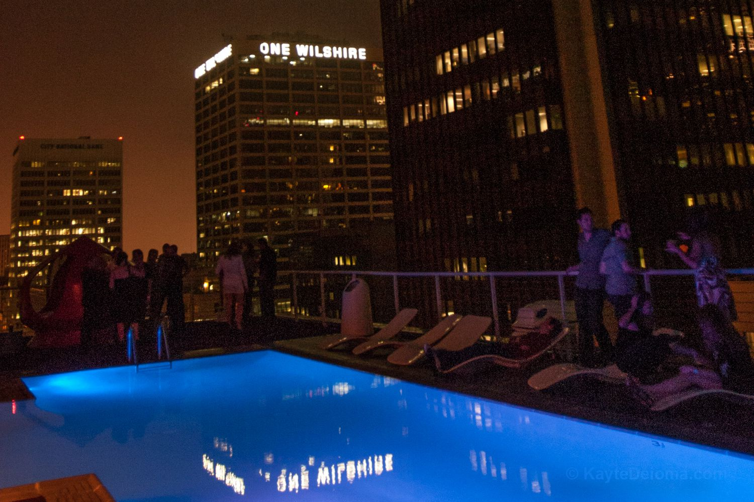 The Standard Rooftop Bar In Downtown La