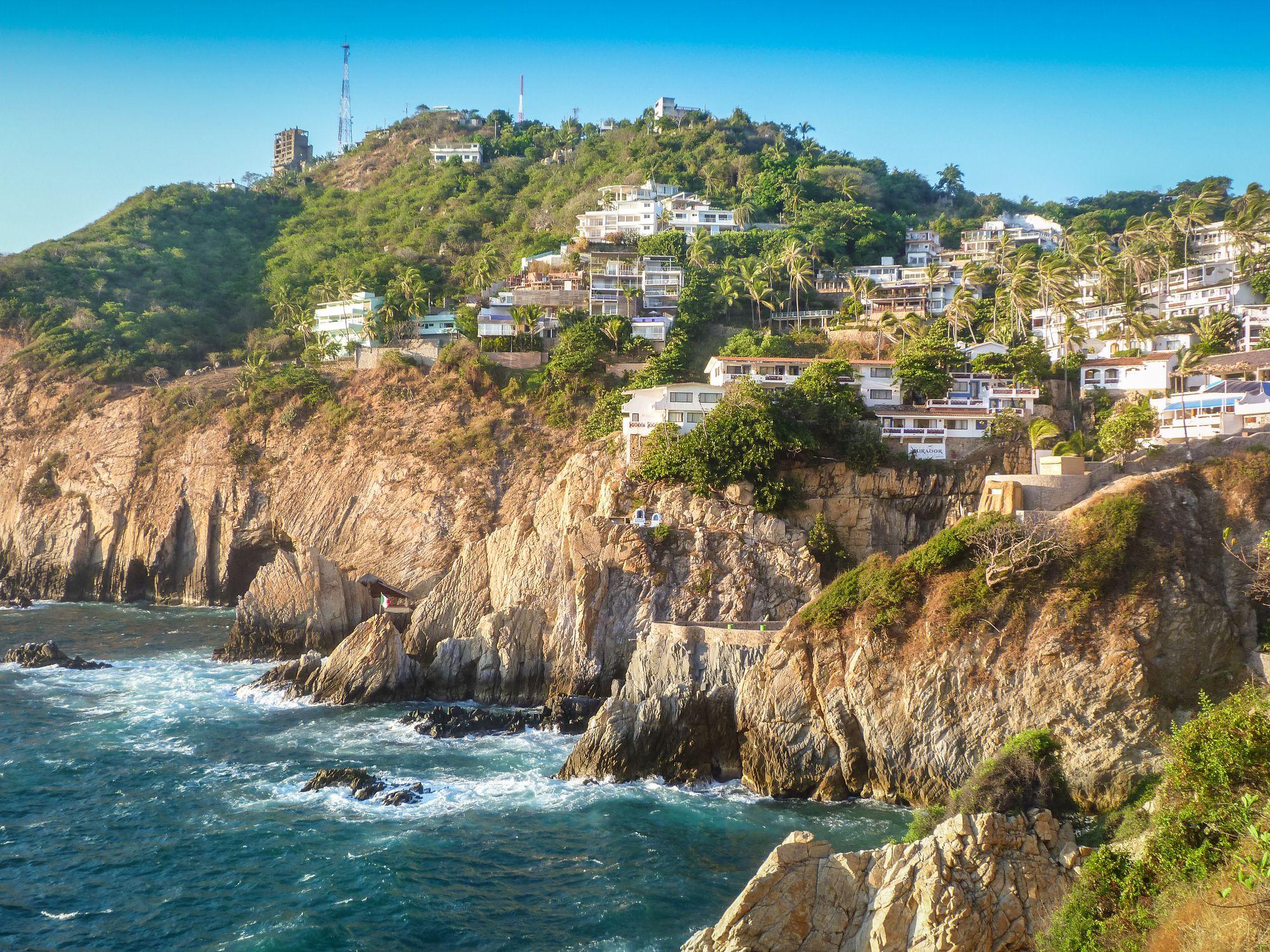 Acapulco coastline