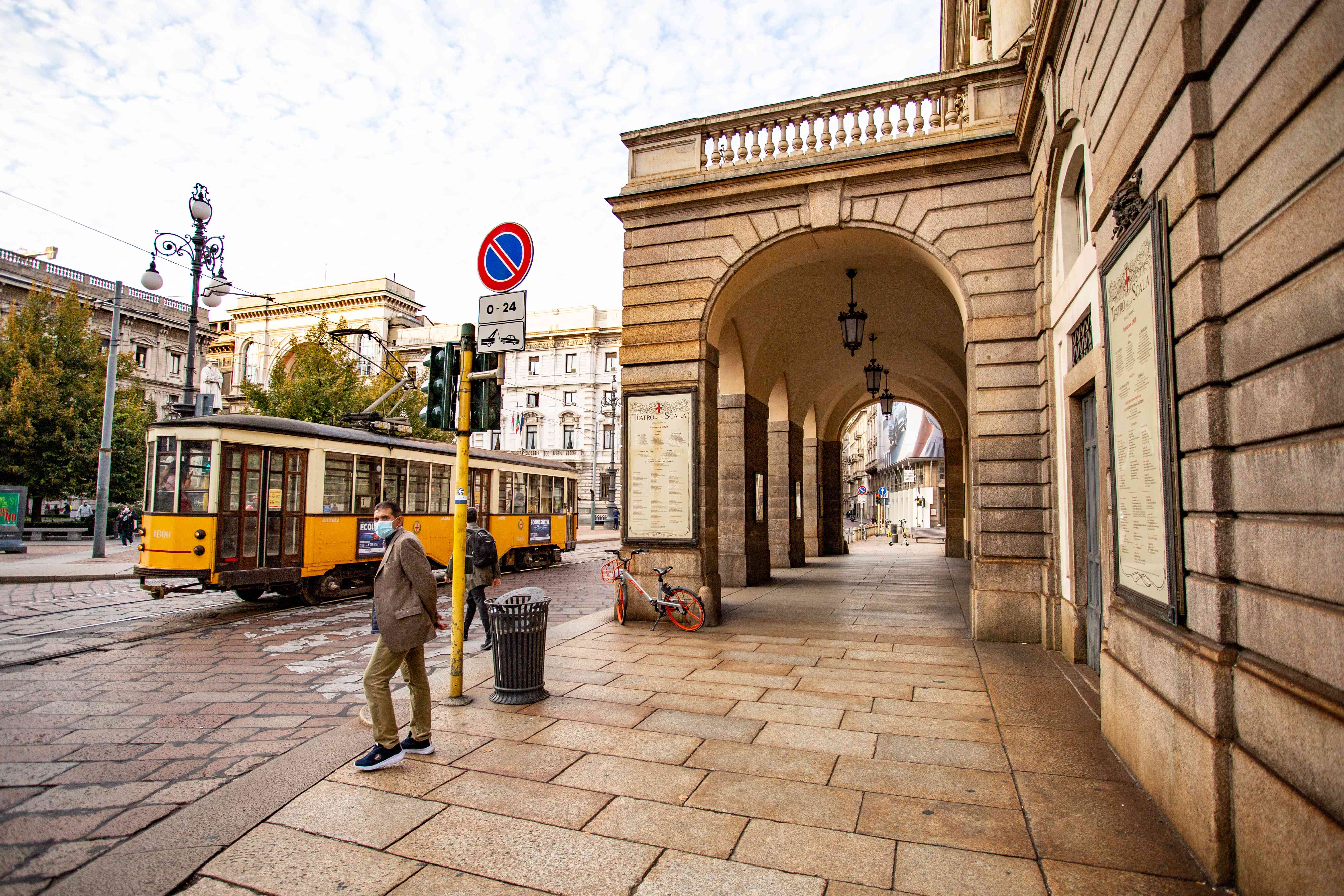 La Scala in Milan, Italy