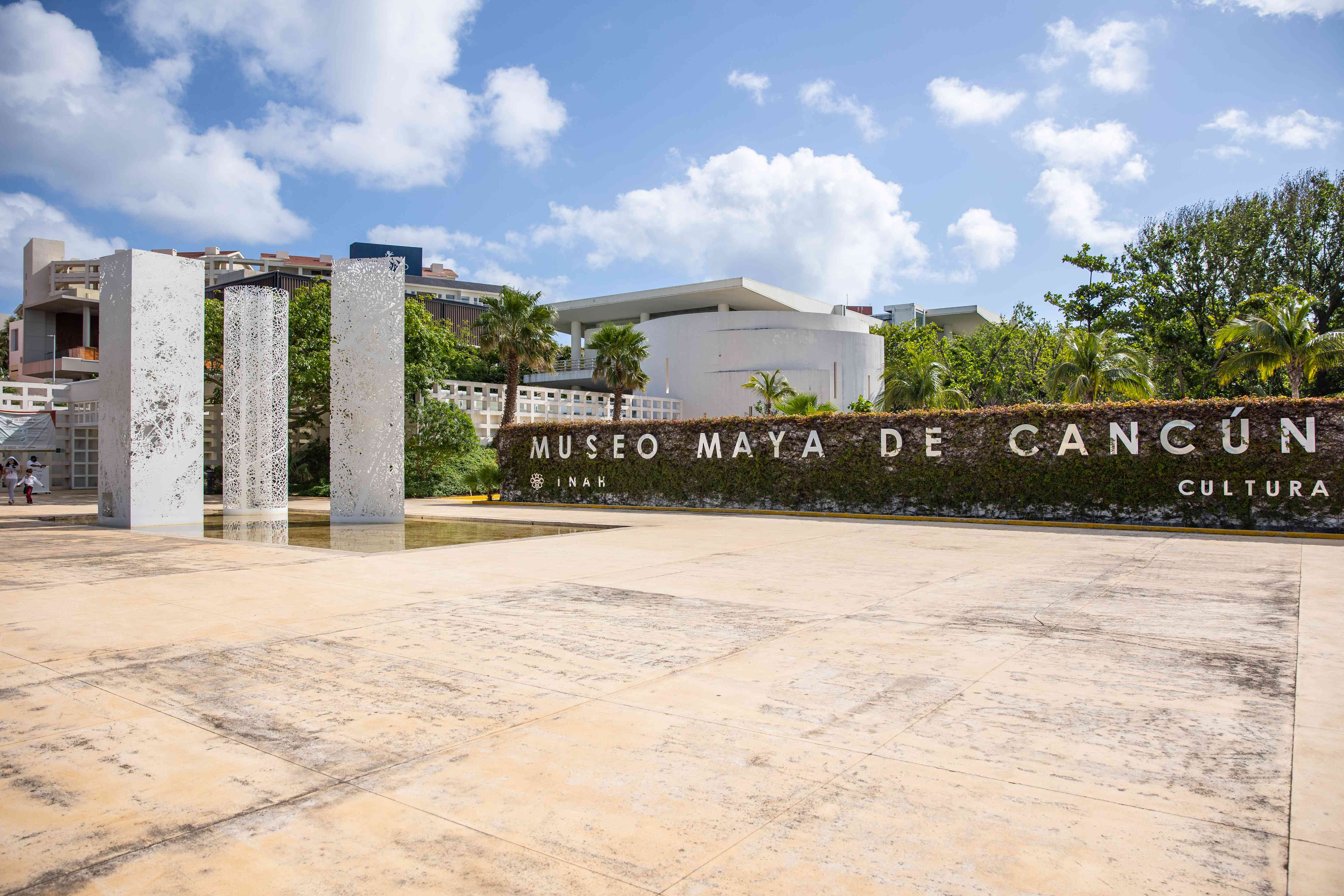 Maya Museum entrance