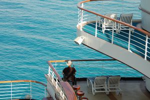 Disabled passenger accommodations on cruise ship