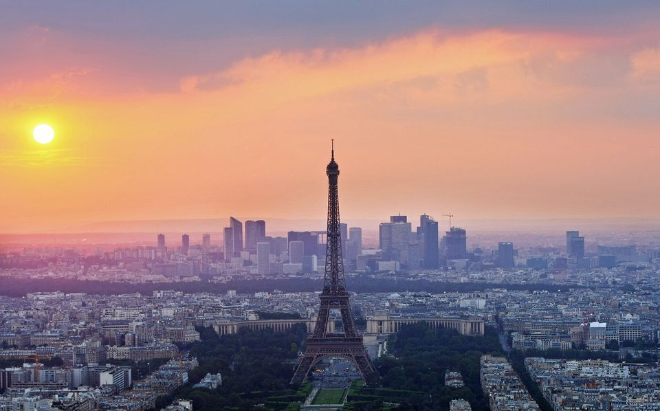 Paris offers travelers some beautiful city views.
