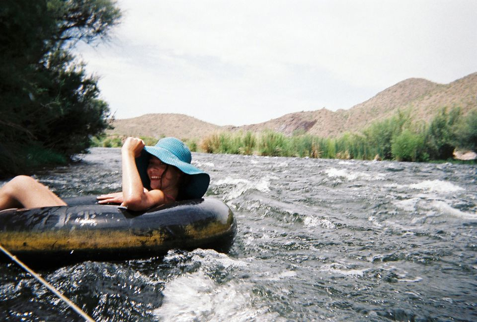 Salt River Tubing in Phoenix
