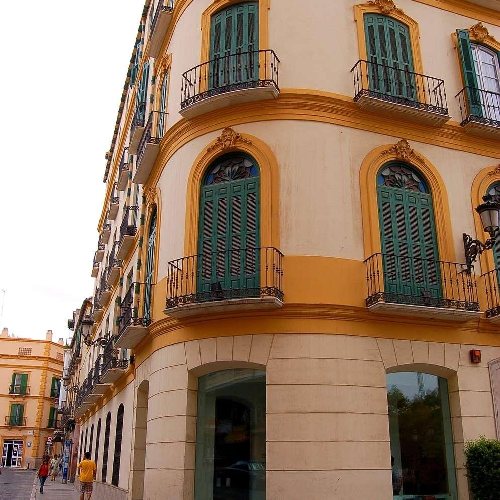 The home where PIcasso was born in Malaga, Spain