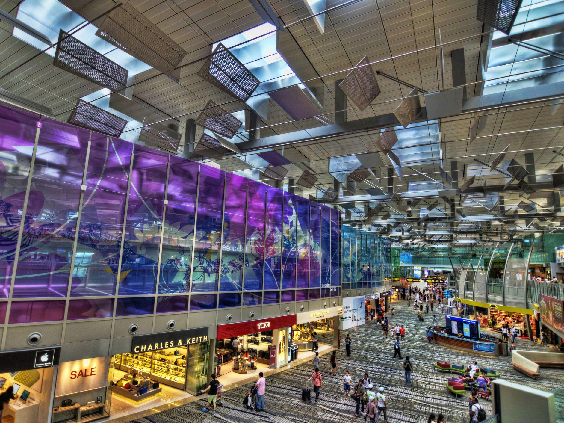 Kết quả hình ảnh cho changi international airport