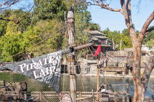 Pirate's Lair on Tom Sawyer Island