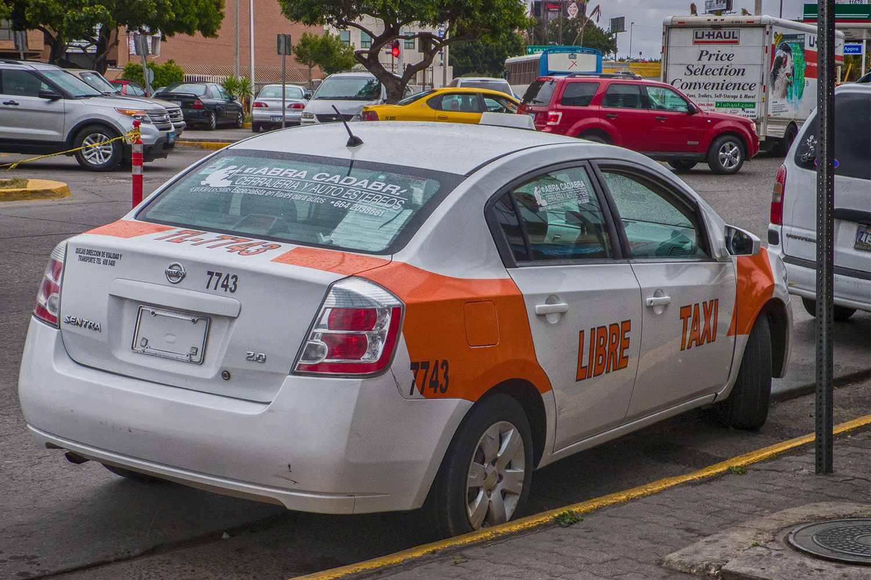 "Ein Tijuana ""Taxi Libre"""