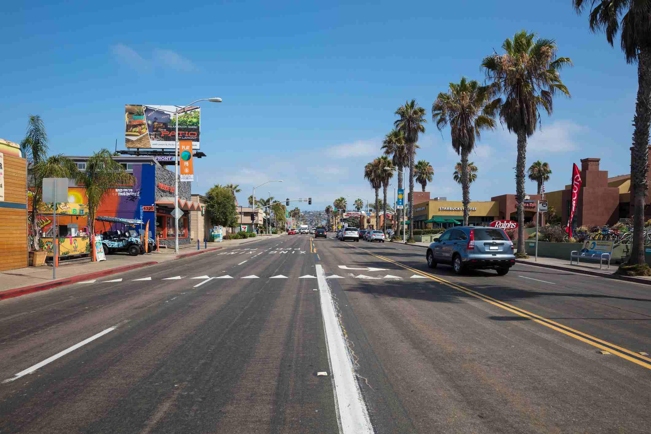 Pacific Beach Neighborhood, San Diego