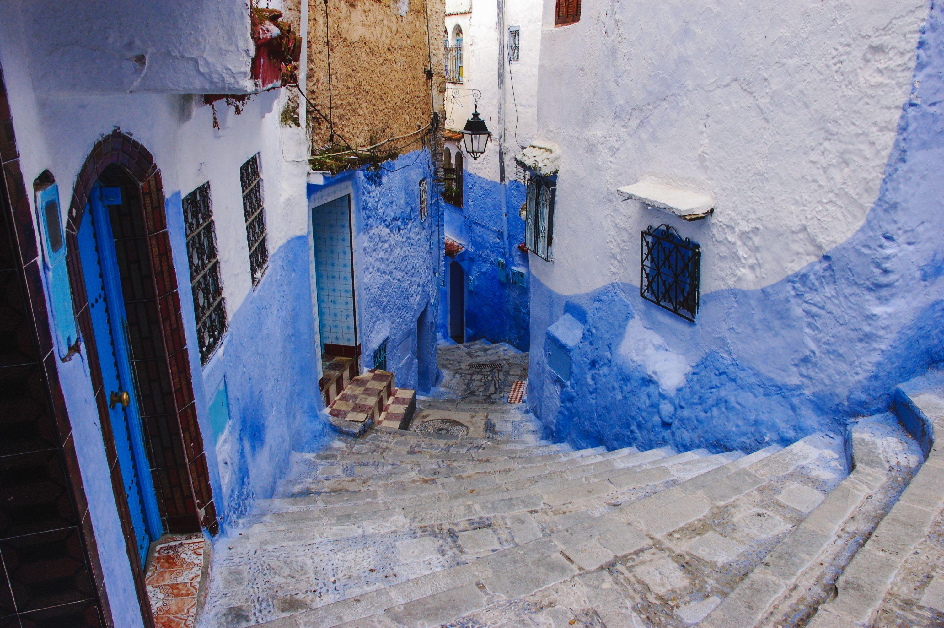 Blue walls in chefchaeoun