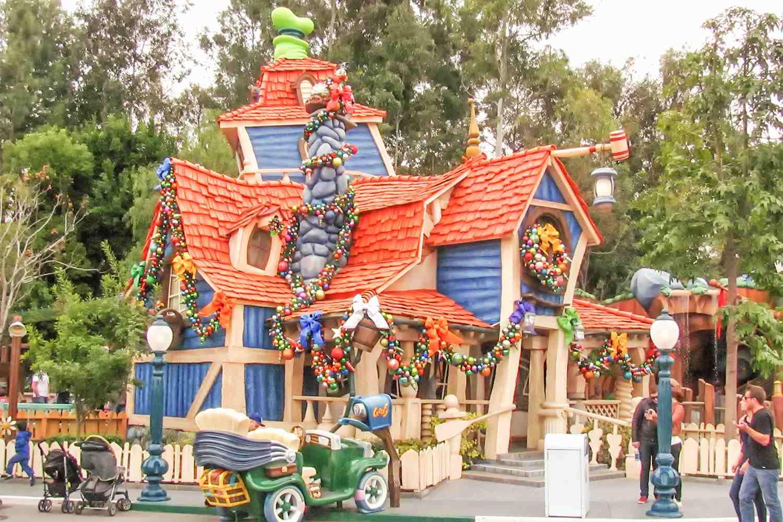 Goofy's Playhouse at Disneyland
