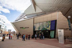 Denver Art Museum in Colorado