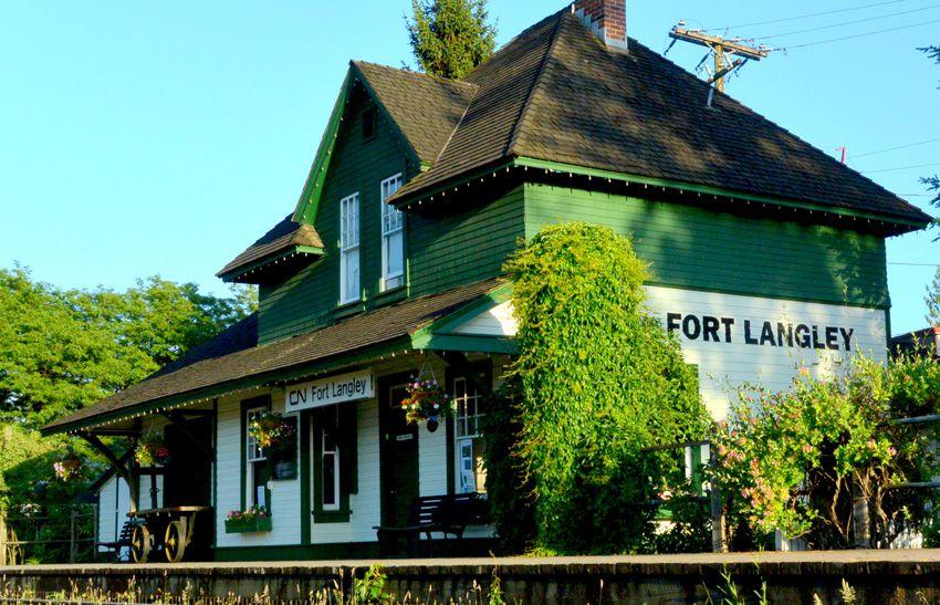 CN Station Fort Langley