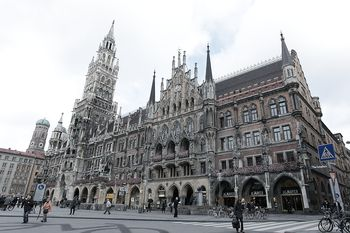 marienplatz in the city centre of munich germany - Must See Munchen