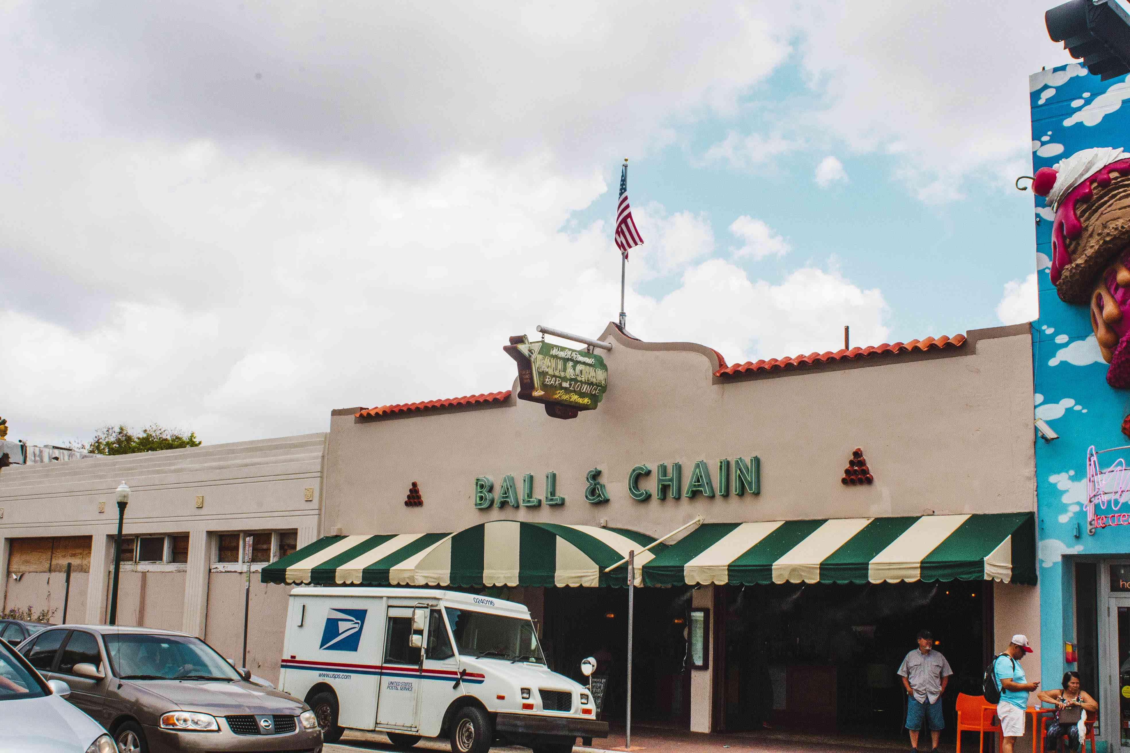 Exterior of Ball & Chain