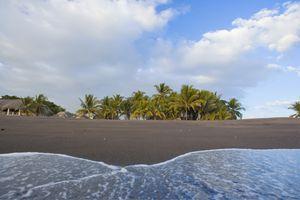 Black Sand Beach, Monterrico, Pacific Coast, Guatemala