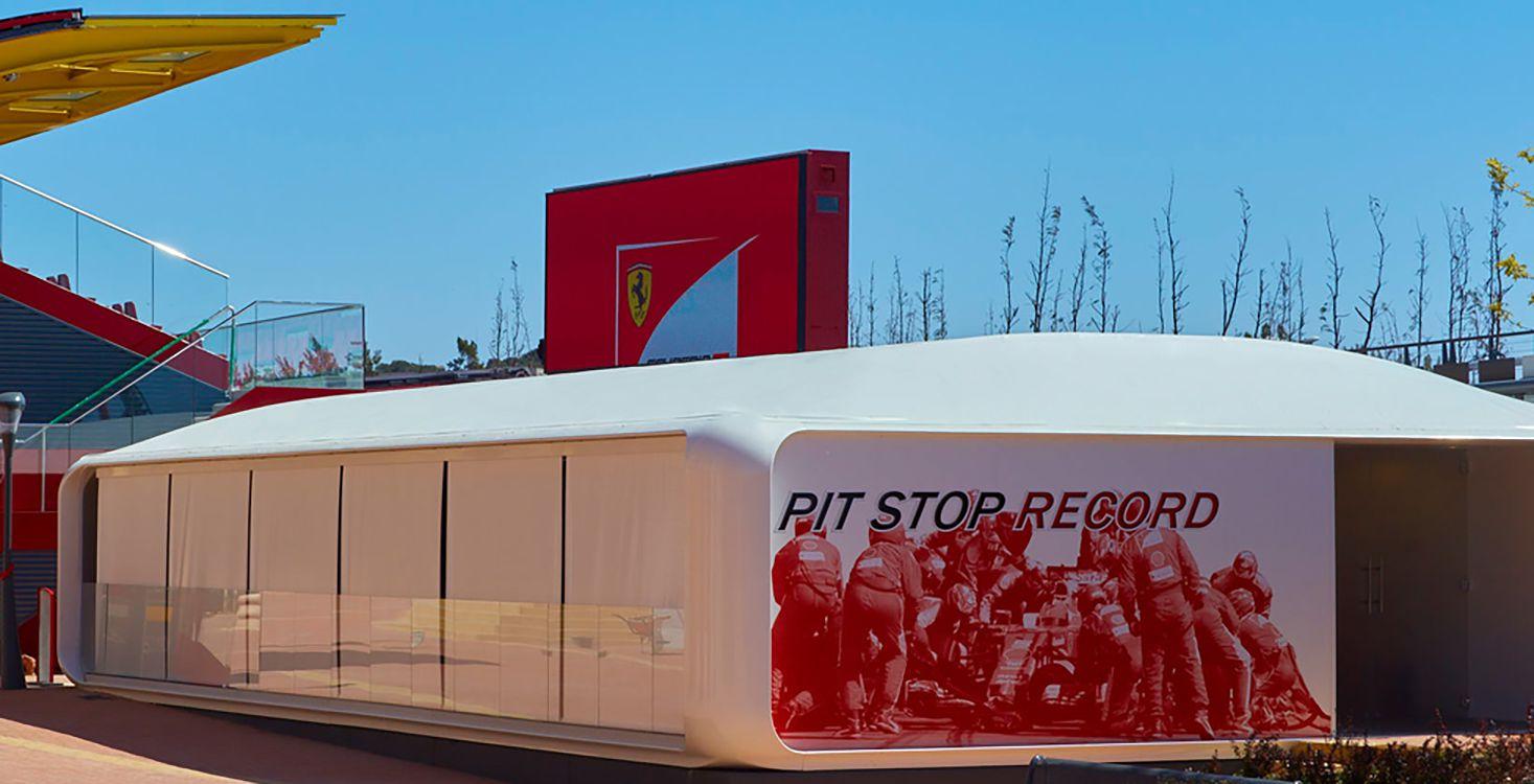 Pit Stop Record at Ferrari Land