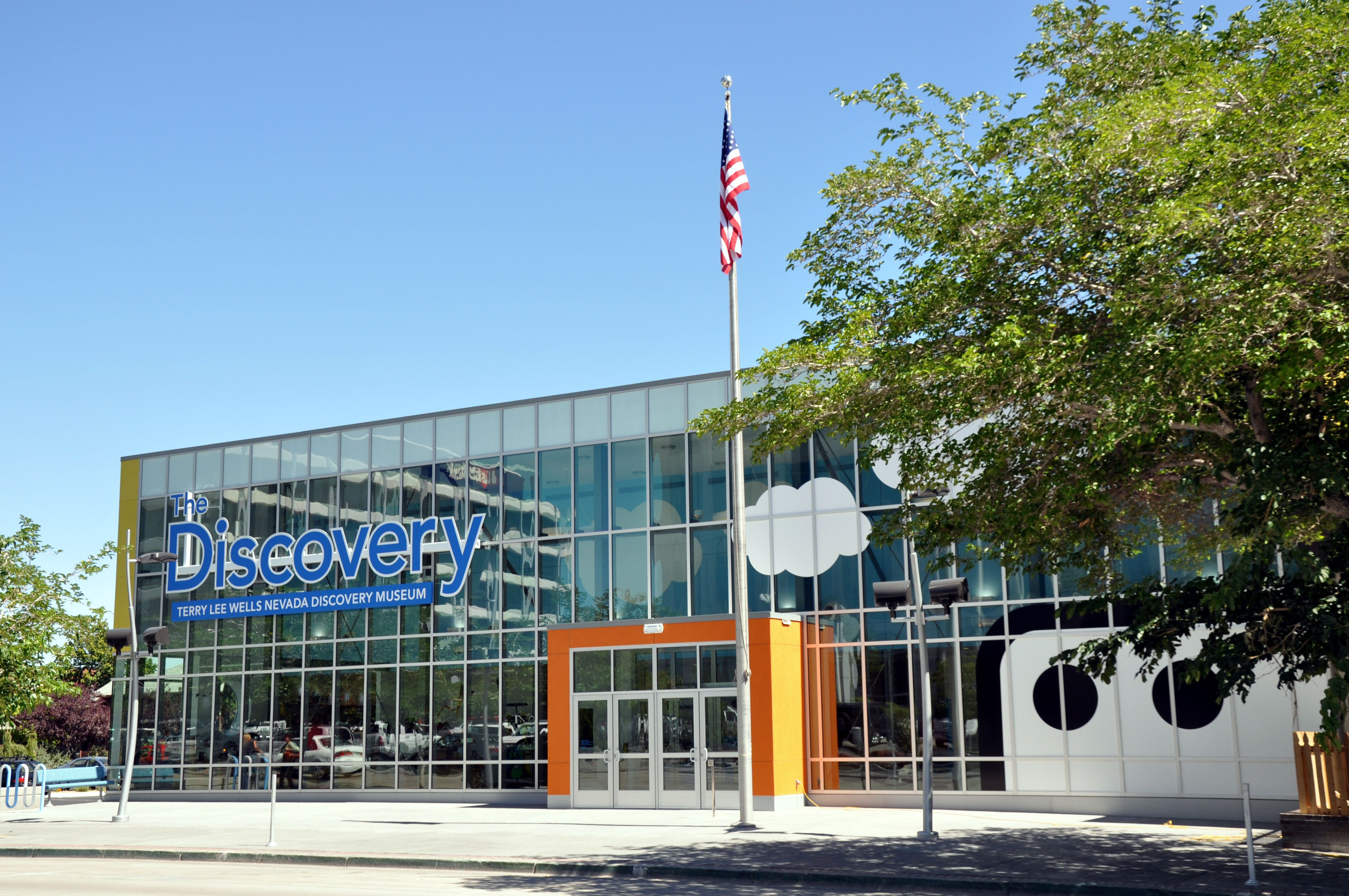 Exterior Of Discovery Museum Reno