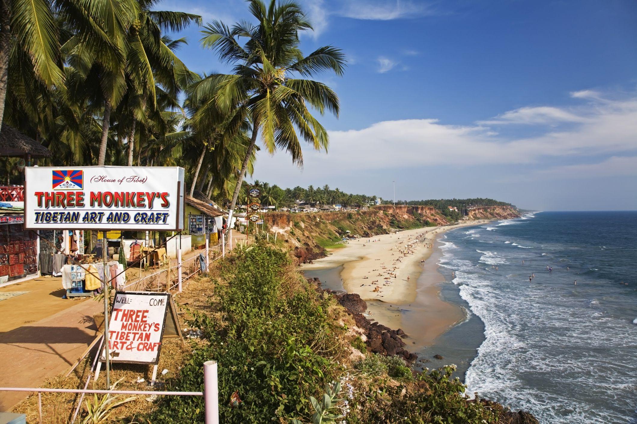 Playa Varkala, Kerala