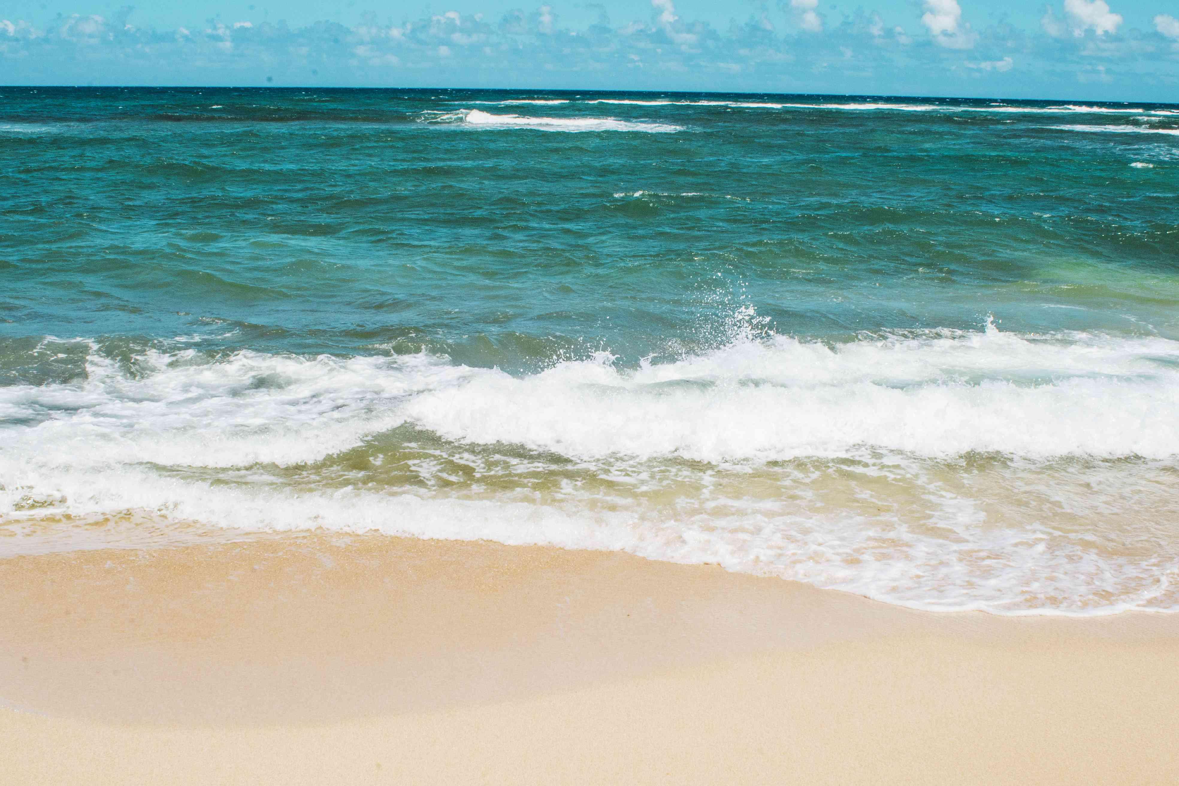 Mokulēʻia Beach Park en la costa norte de Oahu