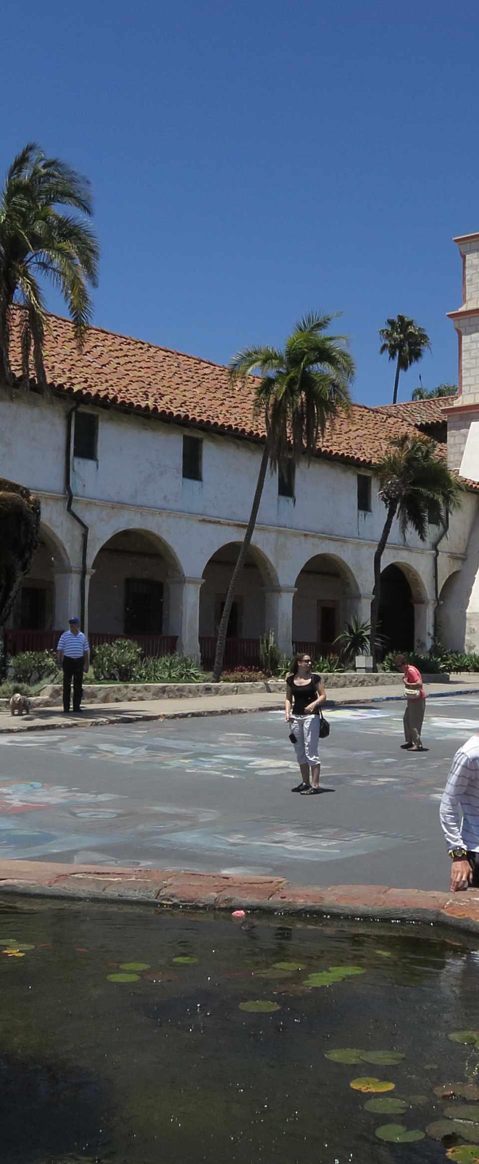 Old Spanish Mission in Santa Barbara