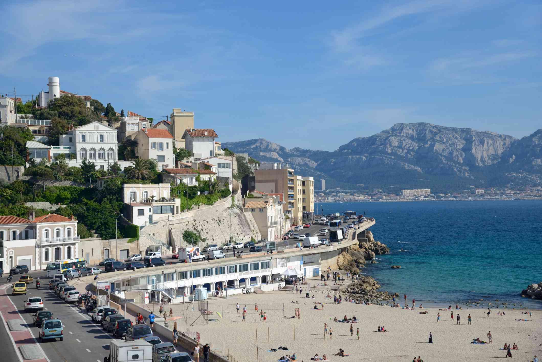 Plage du Prophète, Marseille beach