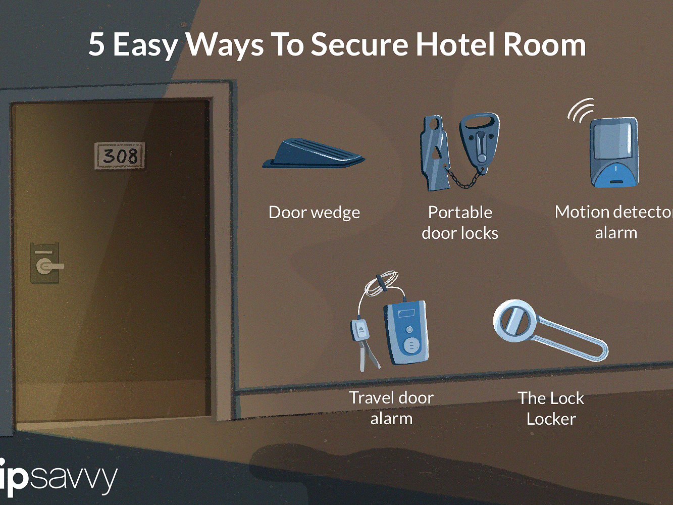 Make Hotel Rooms Secure With Portable Safety Devices