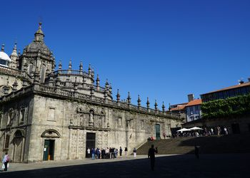 It's a long way from San Sebastian to Santiago, but this view awaits you at the end