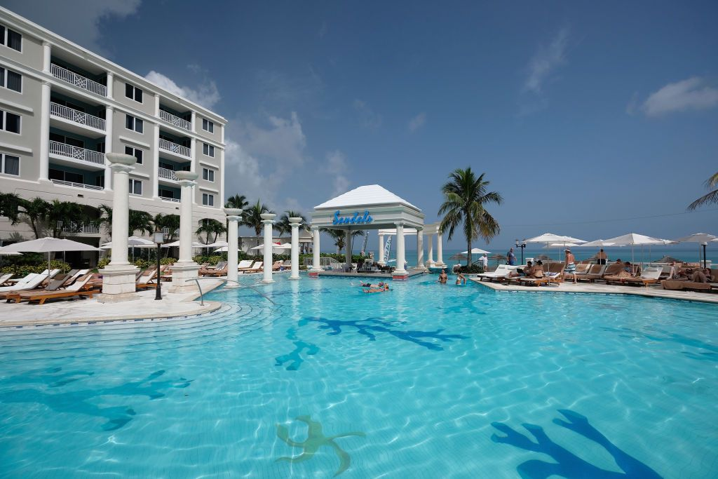 A view of Sandals Royal Bahamian Spa Resort & Offshore Island