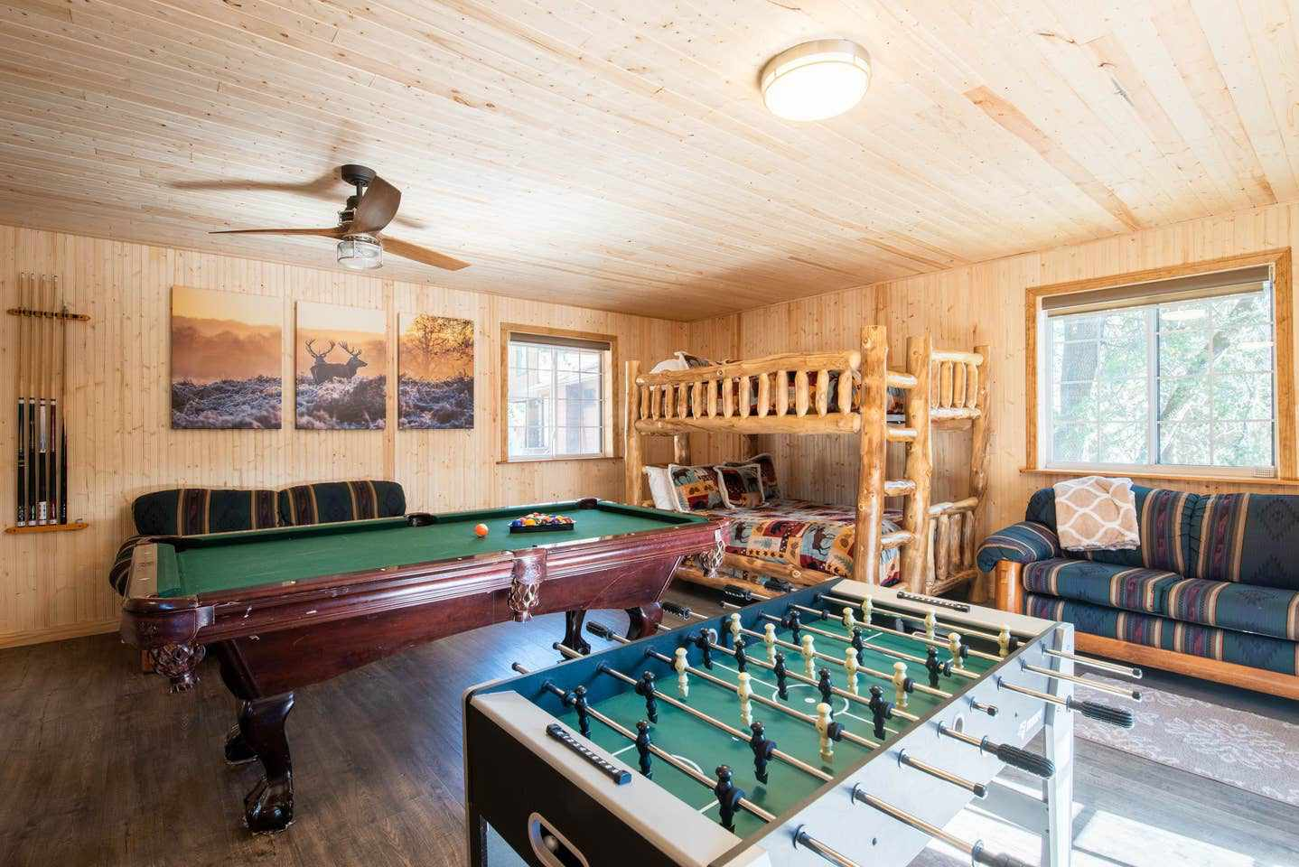 4-Bedroom Cabin with Game Room