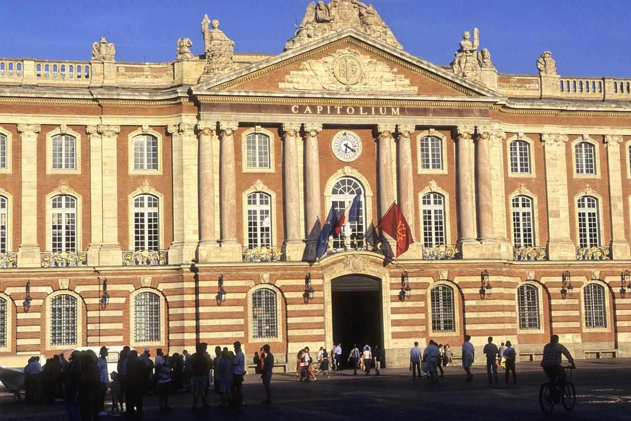 Francia, Midi-Pyrénées, Haute Garonne (31), Toulouse, le Capitole, ayuntamiento