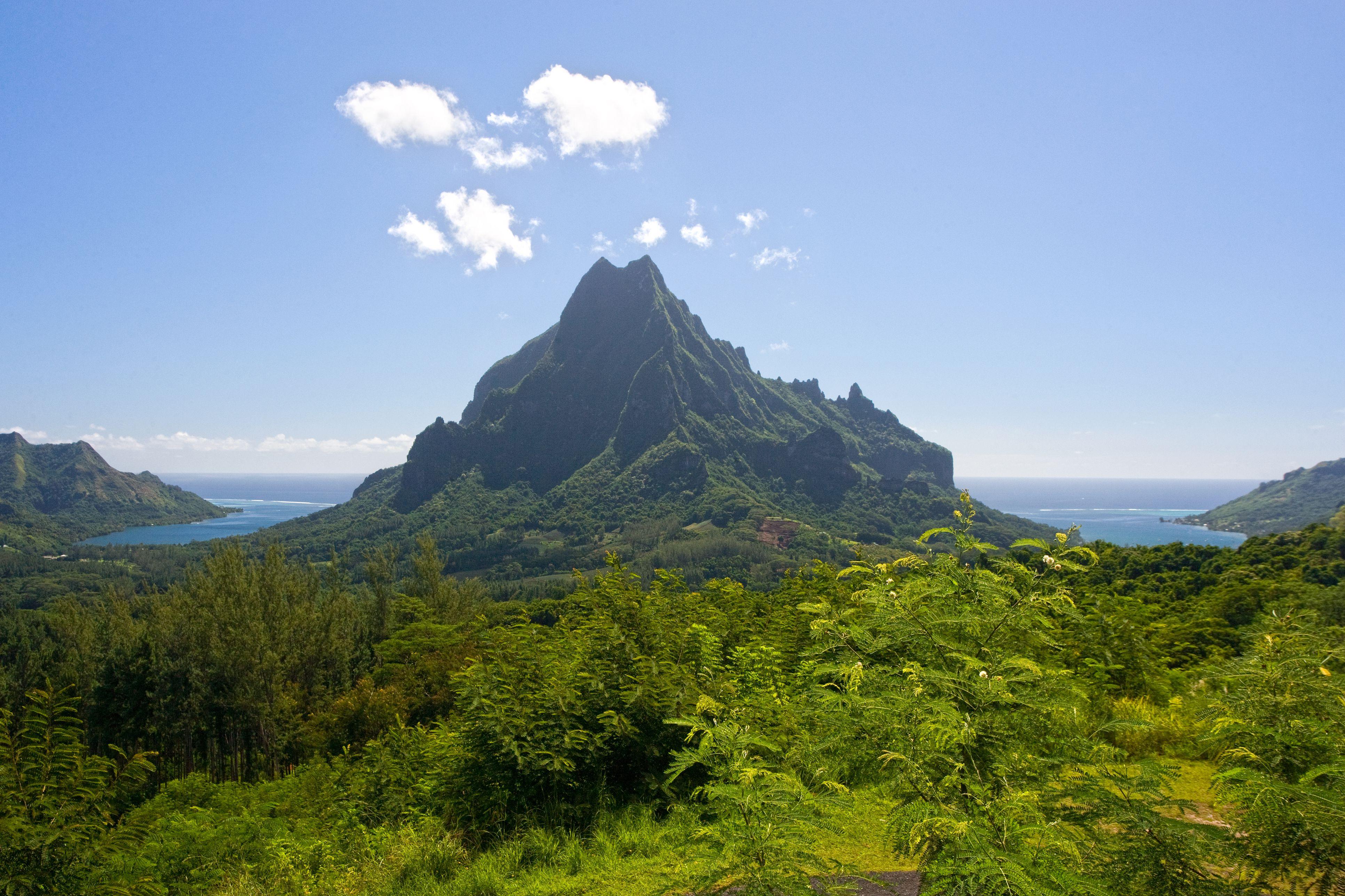 Tropical island moorea scenic, Tahiti