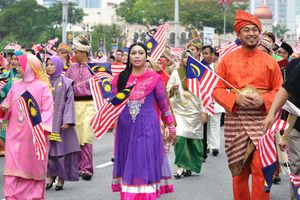 Hari Merdeka in Malaysia