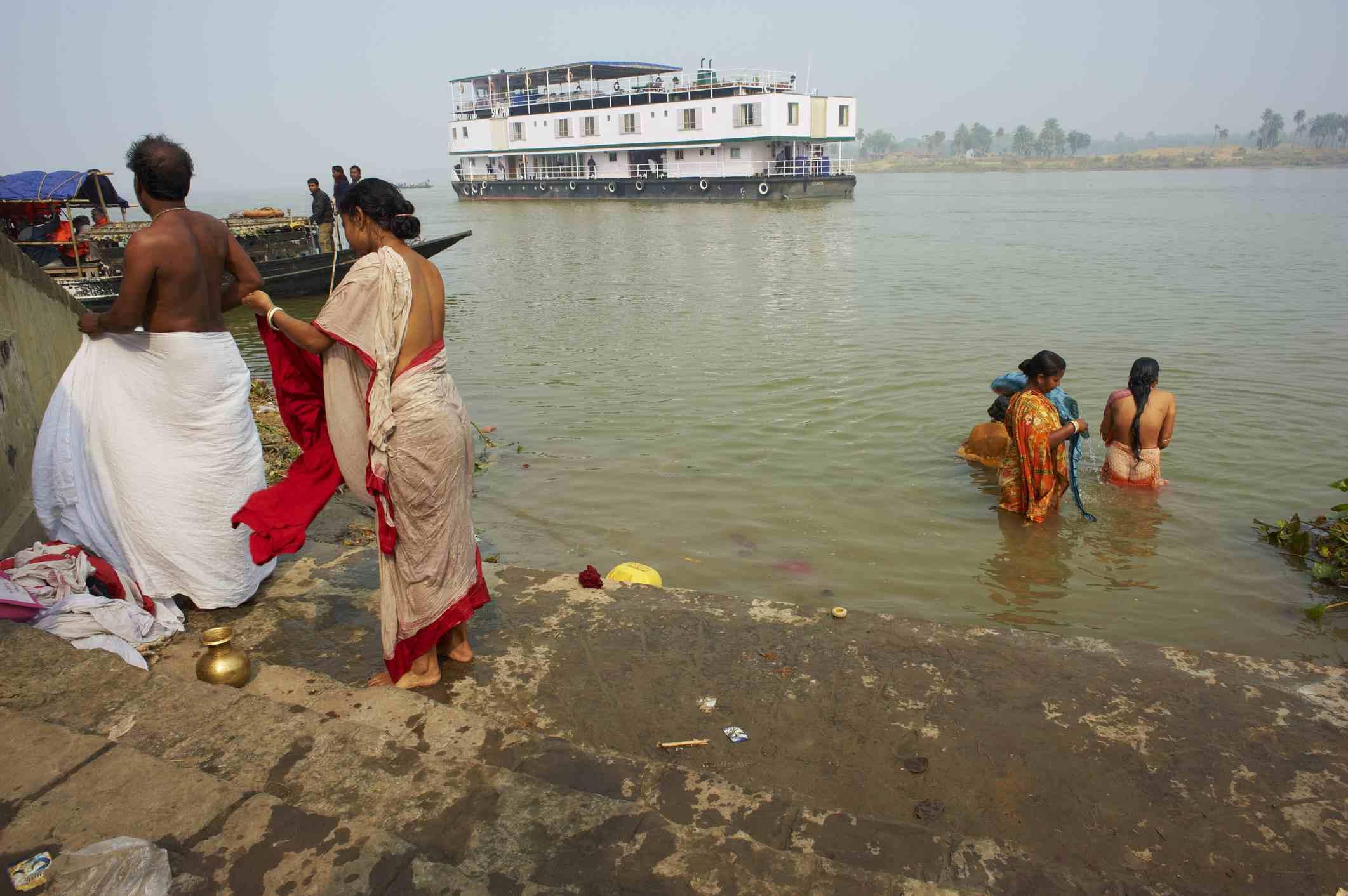 West Bengal, Ganges River.