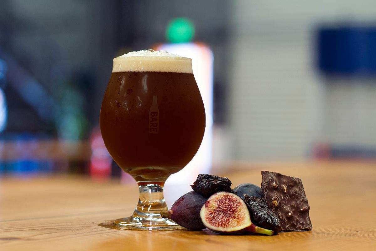 Barebottle Brewing Co. fig and chocolate beer