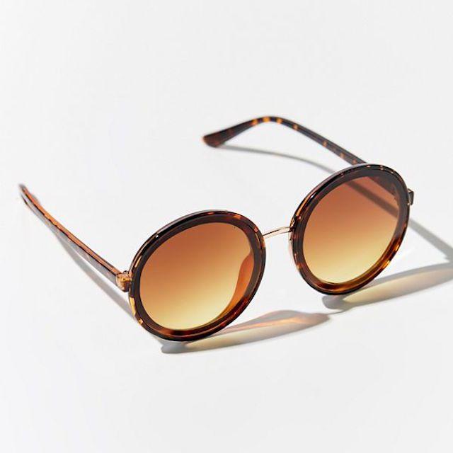 Shakedown Oversized Round Sunglasses