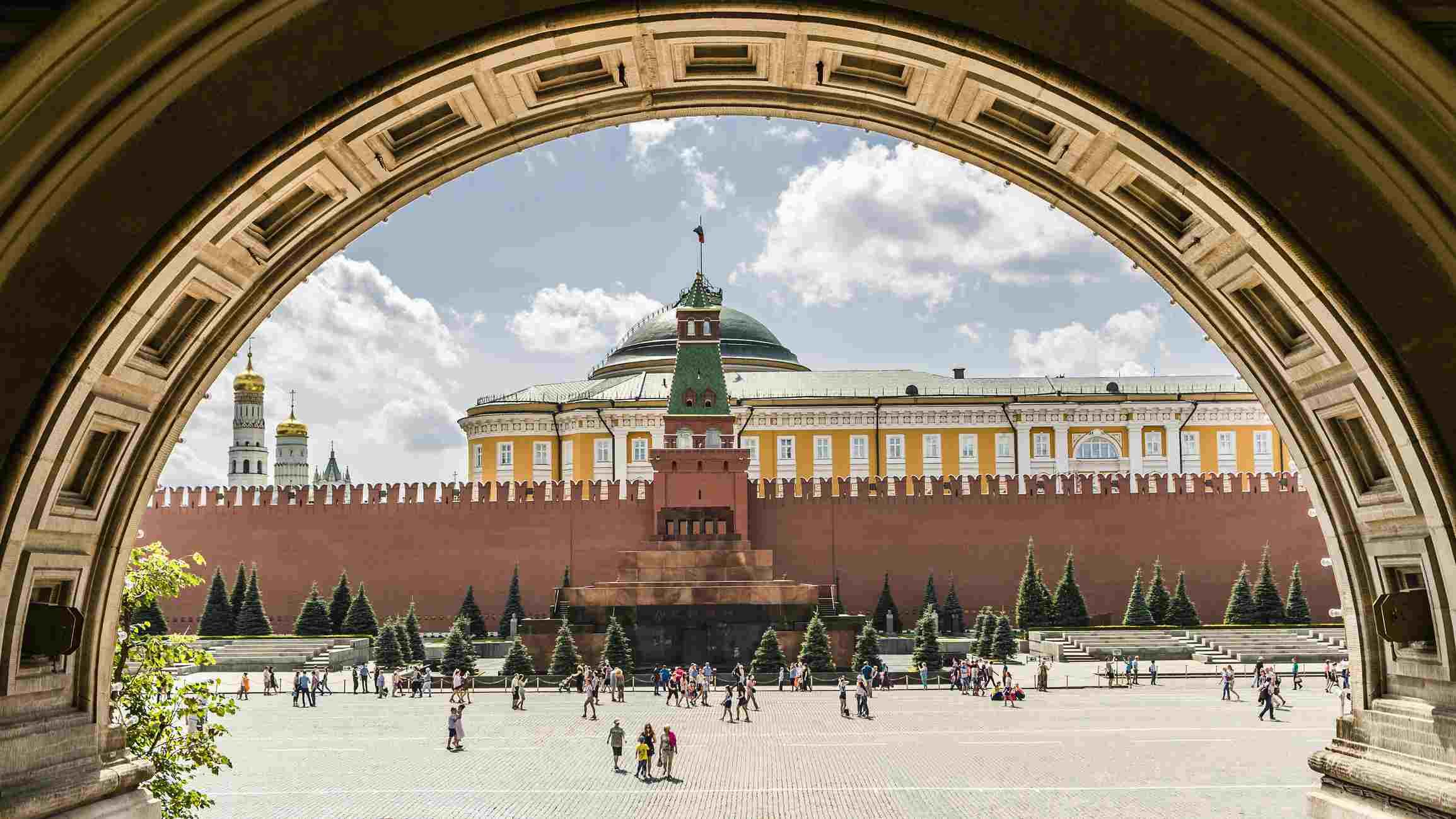 Kremlin en la Plaza Roja