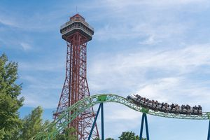 Six Flags Over Texas rides
