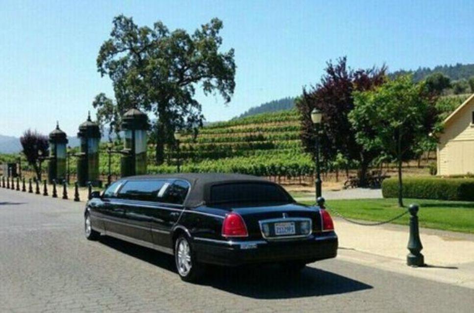 6-Hour Private Napa or Sonoma Limousine Wine Tour
