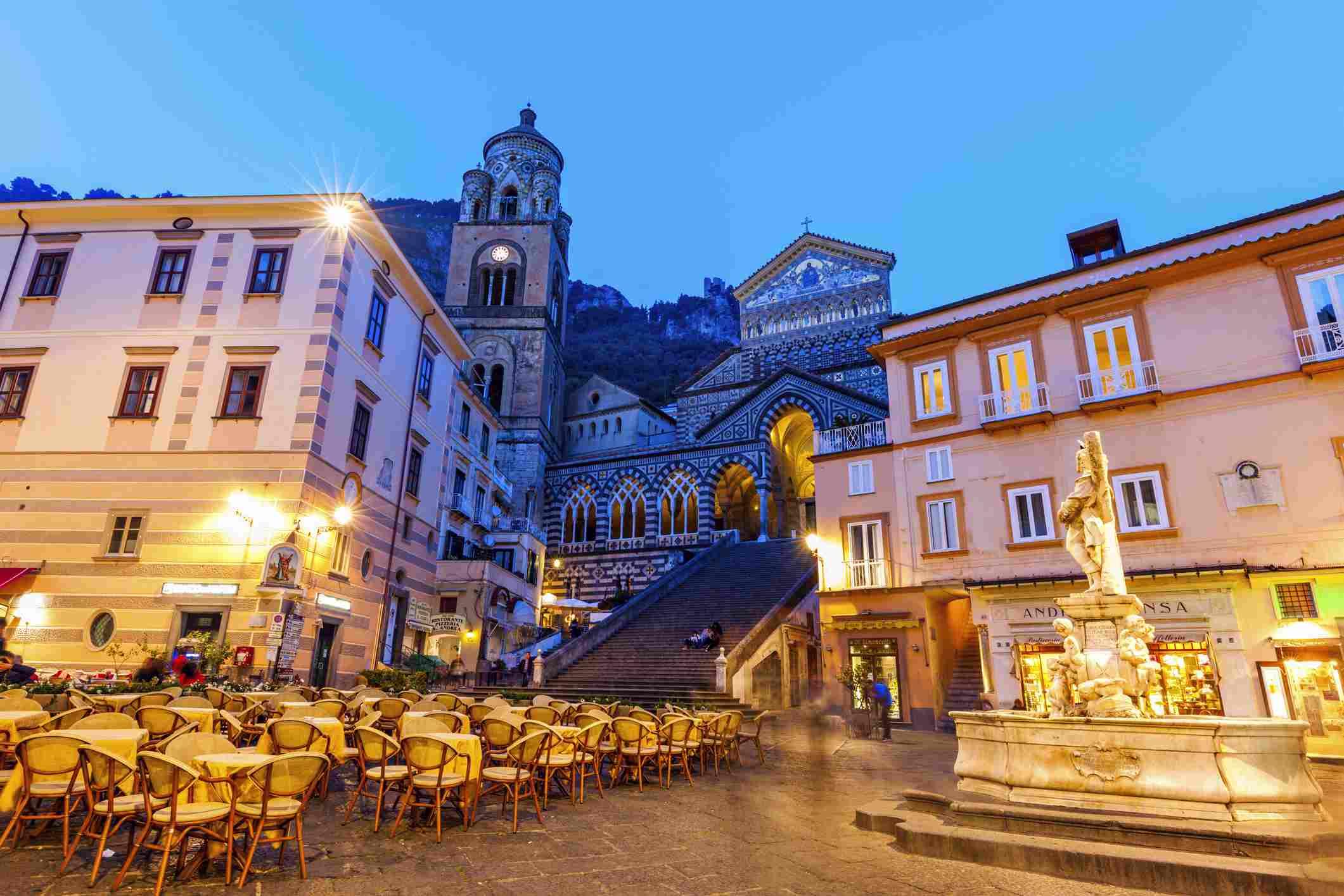 St. Andrea Duomo Amalfi